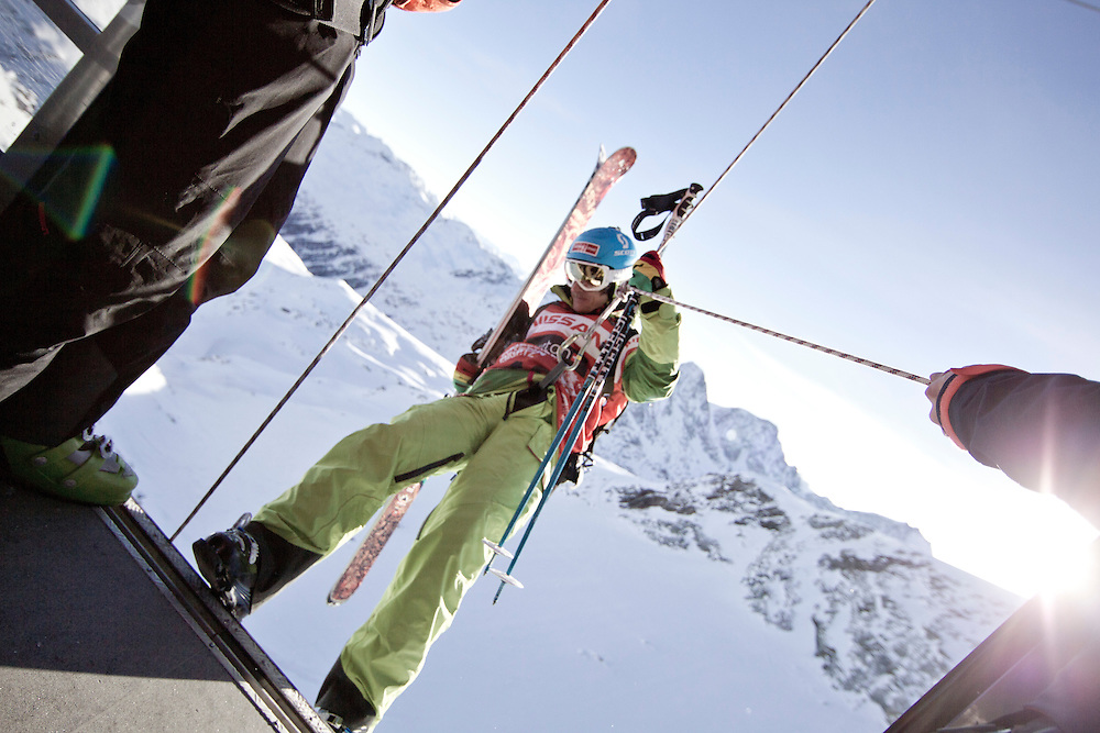 EVENT: NISSAN FREERIDE ENGADIN ST. MORITZ 2011 BY SWATCH, RIDER: STEFAN HAUSL - AUT, STYLE: LIFESTYLE > STYLE.Freeride World Tour 2011 - Six locations around the world, Chamonix Mont-Blanc, Engadin St Moritz, Sochi, Kirkwood, Fieberbrunn and Verbier have been selected for the 4th edition of the Freeride World Tour..The planet's top freeride skiers and snowboarders, men and women travel around the world to prove their skills on some of the most challenging faces..www.freerideworldtour.com