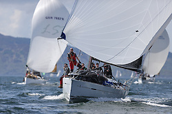 The Clyde Cruising Club's Scottish Series held on Loch Fyne by Tarbert. Day 2 racing in a perfect southerly..FRA37296, Salamander XXI ,John Corson ,CCC , First 35