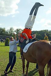Hekkert Ria-Bastings Remy<br /> KWPN Paardendagen Ermelo 2004<br /> Photo © Hippo Foto