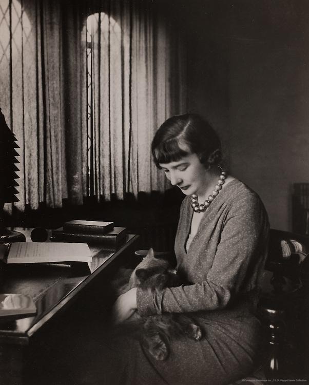 Sheila Kaye-Smith, English Writer, 1926