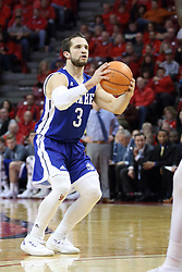 21 February 2018:  Graham Woodward during a College mens basketball game between the Drake Bulldogs and Illinois State Redbirds in Redbird Arena, Normal IL