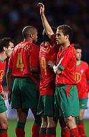 Fotball<br /> Treningskamp<br /> Portugal v Sverige<br /> 28. april 2004<br /> Foto: Digitalsport<br /> NORWAY ONLY<br /> <br /> NUNO FRECHAUT (POR)