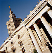 The Palace of Arts and Culture, Warsaw, Poland