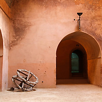 Africa, Morocco, Meknes. The granaries of Moulay Ismaïl.