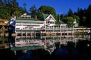 Roche Harbor Resort Restaurant & Reflection - San Juan Islands, Washington.