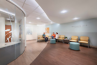 Interior design image of the University of Maryland Medical Center Labor and Delivery renovation in Baltimore by Jeffrey sauers of Commercial Photographics
