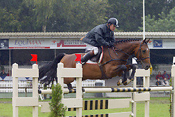 Van Der Schans Wout Jan-Sibon W 5jr<br /> KWPN Paardendagen Ermelo 2004<br /> Photo © Hippo Foto