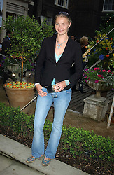 Model JODIE KIDD  at Michele Watches Kaleidoscope Summer Garden Party held at Home House, Portman Square, London on 15th June 2005.<br /><br />NON EXCLUSIVE - WORLD RIGHTS