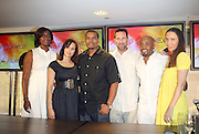 l to r: Yolanda Sutton, Shelby Stone, Benny Boom, Paul Stuart, Teddy Reiley, and Melanie Sharre  at the Fox King panel ' The Art of Music for Film ' at the 2008 American Black Film Festival held at The Sofitel Hotel on August  9, 2008 ..The Festival film slate is primarily composed of world premieres (shorts, narrative features and documentaries), positioning it as the leading film festival in the world for African American and urban content. Since its inception ABFF, has screened over 450 films and has rewarded and redefined artistic excellence in independent filmmaking.