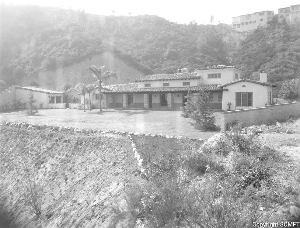Circa 1930 6992 Los Tilos in the Outpost Estates