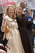 Her Majesty the queen and members of the royal family celebrate Saturday 29 April 2006 Queensday in the province flevoland in the cities  Zeewolde and almere.<br />