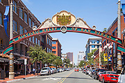 Gaslamp Quarter of San Diego