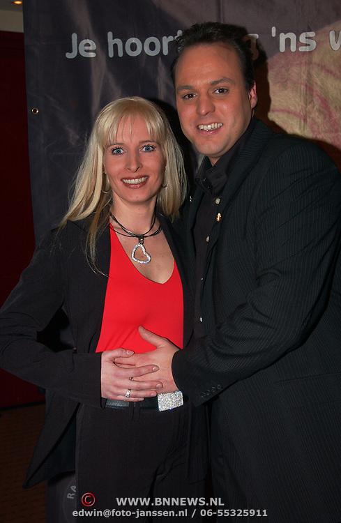 Harpengala 2004, Mariska Rossenberg en Frans Bauer