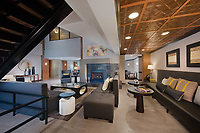 Interior image of the Cosmopolitan at Lorton Station Apartments in Lorton Virginia by Jeffrey Sauers of Commercial Photographics, Architectural Photo Artistry in Washington DC, Virginia to Florida and PA to New England