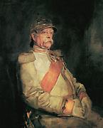 Otto von Bismarck, 1890. Painted by  Franz Seraph Lenbach (1836 - 1904). German painter.