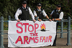 2021-09-06 Stop DSEI Arms Fair protests - Day 1