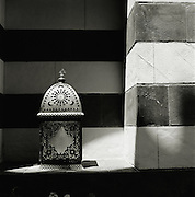A traditional lantern, seen in Damascus, Syria