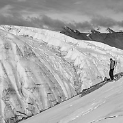 Overlooking the Canada Glacier