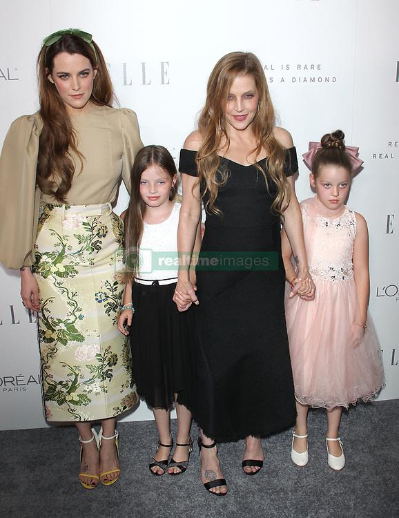 Elle Women in Hollywood Awards - Los Angeles. 16 Oct 2017 Pictured: Riley Keough, Lisa Marie Presley, Harper Lockwood, Finley Lockwood. Photo credit: Jaxon / MEGA TheMegaAgency.com +1 888 505 6342