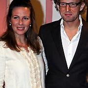 NLD/Apeldoorn/20081101 - Opening tentoonstelling SpeelGoed op paleis Het Loo, Prins Bernhard Jr. met partner Annet Sekreve