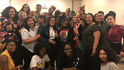 """Janelle Monae releases a photo on Instagram with the following caption: """"There\u2019s nothing like meeting other dirty computers . Thank you Minneapolis for an unforgettable night . \ud83d\udc9c It was bitter sweet . We felt His Spirit . \ud83d\udc9c \ud83d\ude4f\ud83c\udfff\ud83d\ude2d See you tonight Chicago !"""". Photo Credit: Instagram *** No USA Distribution *** For Editorial Use Only *** Not to be Published in Books or Photo Books ***  Please note: Fees charged by the agency are for the agency's services only, and do not, nor are they intended to, convey to the user any ownership of Copyright or License in the material. The agency does not claim any ownership including but not limited to Copyright or License in the attached material. By publishing this material you expressly agree to indemnify and to hold the agency and its directors, shareholders and employees harmless from any loss, claims, damages, demands, expenses (including legal fees), or any causes of action or allegation against the agency arising out of or connected in any way with publication of the material."""