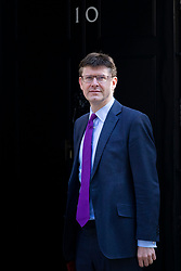 © Licensed to London News Pictures. 08/05/2018. London, UK. Secretary of State for Business, Energy and Industrial Strategy Greg Clark arrives on Downing Street for the Cabinet meeting. Photo credit: Rob Pinney/LNP