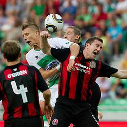 20110714: SLO, Football - Europa League Second Qualifying Round, NK Olimpija vs Bohemians