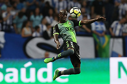 April 23, 2018 - Porto, Porto, Portugal - Vitoria Setubal's Portuguese forward Edinho during the Premier League 2016/17 match between FC Porto and Vitoria FC, at Dragao Stadium in Porto on April 23, 2018. (Credit Image: © Dpi/NurPhoto via ZUMA Press)