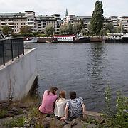 Stockholm, Sweden, August 18. 2012. Hammarby Sjo.