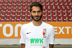 08.07.2015, WWK Arena, Augsburg, GER, 1. FBL, FC Augsburg, Fototermin, im Bild Halil Altintop #7 (FC Augsburg) // during the official Team and Portrait Photoshoot of German Bundesliga Club FC Augsburg at the WWK Arena in Augsburg, Germany on 2015/07/08. EXPA Pictures © 2015, PhotoCredit: EXPA/ Eibner-Pressefoto/ Kolbert<br /> <br /> *****ATTENTION - OUT of GER*****