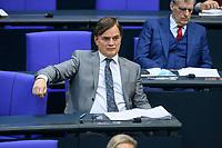08 DEC 2020, BERLIN/GERMANY:<br /> Dr. bernd Baumann, MdB, AfD, 1. Parl. Geschaeftsfuehrer der AfD-Fraktion, Haushaltsdebatte, Plenum, Reichstagsgebaeude, Deuscher Bundestag<br /> IMAGE: 20201208-02-007