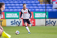 Bolton Wanderers defender Gethin Jones (2)during the EFL Sky Bet League 2 match between Bolton Wanderers and Cheltenham Town at the University of  Bolton Stadium, Bolton, England on 16 January 2021.