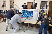 12/8/13 12:23:53 PM -- Albuquerque NM  --Presentation of supplies for Operation Comfort Warriors gifts to the Raymond G. Murphy VA Medical Center in Albuquerque, N.M..<br /> <br />  --    Photo by Steven St John