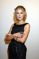 Actress ROSAMUND PIKE at the Swarovski 'Runwy Rocks' held at the Phillips de Pury Gallery, Howick Place, London on 10th June 2008.<br /><br />NON EXCLUSIVE - WORLD RIGHTS