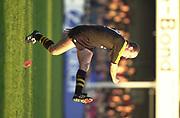 Gloucester, Gloucestershire, UK., 04.01.2003, Wasp's Alex KING, kicking, at bar, during, Zurich Premiership Rugby match, Gloucester vs London Wasps,  Kingsholm Stadium,  [Mandatory Credit: Peter Spurrier/Intersport Images],