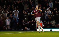 Photo: Leigh Quinnell.<br /> West Ham United v Fulham. The Barclays Premiership. 13/01/2007. West Hmas Yossi Benayoun celebrates his goal.