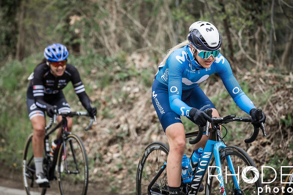 Katrine Aalerud (NOR/Movistar)<br /> <br /> Women's Elite Brabantse Pijl 2021 <br /> 1 Day Race: Lennik - Overijse 127km<br /> <br /> ©Rhode.Photo