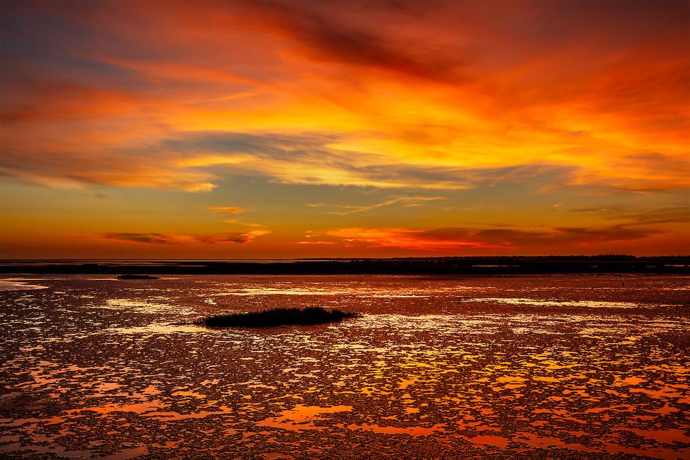 Port Aransas Nature Preserve Sunset 01