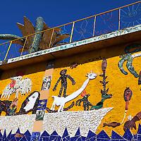 Central America, Cuba, Jaimanitas. Casa Fuster, the studio and home of Jose Fuster in Jaimanitas.