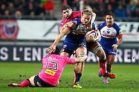 Henry VANDERGLAS / Pascal PAPE - 19.12.2014 - Grenoble / Stade Francais - 13eme journee de Top 14 -<br />Photo : Jack Robert / Icon Sport