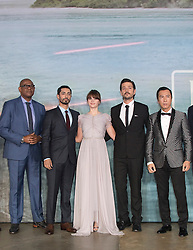 Forest Whitaker, Riz Ahmed, Felicity Jones, Diego Luna, Donnie Yen attend the launch event for Rogue One: A Star Wars Story at Tate Modern on December 13, 2016, in London, UK. Photo by Bakounine/ABACAPRESS.COM