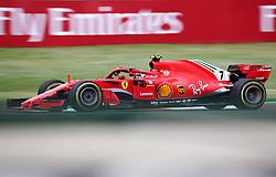 May 13, 2018 - Barcelona, Spain - Kimi Raikkonen, team Ferrari, during the GP Spain F1, on 13th May 2018 in Barcelona, Spain. (Credit Image: © Joan Valls/NurPhoto via ZUMA Press)