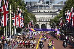 August 13, 2017 - London, STORBRITANNIEN - 170813 TÅvlande i 20 km gÅ'ng under dag tio av friidrotts-VM den 13 augusti 2017 i London  (Credit Image: © Joel Marklund/Bildbyran via ZUMA Wire)