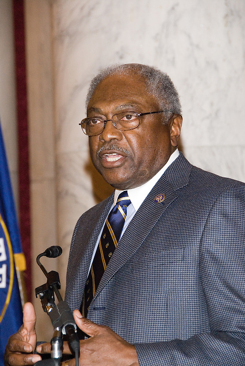 Rep. James Clyburn (SC-06)speaks at the Luncheon on the Hill during the United States Hispanic Chamber of Commerce's 19th Annual Legislative Conference, in Washington, DC, Wednesday, March 11, 2009.