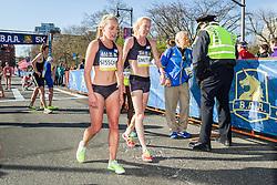 BAA 5K road race Emily Sisson, Kim Smith