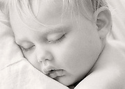 Sleeping baby<br /> Winnipeg<br /> Manitoba<br /> Canada
