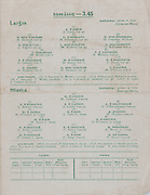 Interprovincial Railway Cup Football Cup Final,  17.03.1957, 03.17.1957, 17th March 1957, referee M O Huiginn, Connacht 2-09, Munster 1-06,.Interprovincial Railway Cup Hurling Cup Final,  17.03.1957, 03.17.1957, 17th March 1957, referee C MacLoclainn, Leinster 2-05, Munster 5-07, Hurling Team Leinster, A Foley, R Rackard, N O'Donnell, D Ferguson, J English, W Rackard J McGovern, W Walsh, E Wheeler, S Clohessy, M Kenny, T Flood, R Rockett, N Rackard, W O'Dwyer, Hurling Team Munster, M Cahsman, J Brohan, J Lyons, A O'Shaughnessy, M O'Connor, J Finn, P Philpott, M Ryan, J O'Connor, D Kelly, T Kelly, F Walsh, P Kenny, C Ring, P Barry,