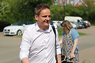 AFC Wimbledon manager Neal Ardley arriving during the EFL Sky Bet League 1 match between AFC Wimbledon and Oldham Athletic at the Cherry Red Records Stadium, Kingston, England on 21 April 2018. Picture by Matthew Redman.