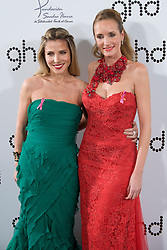 (LtoR) Actress Elsa Pataky with Sandra Ibarra attends Ghd Pink Proyect charity dinner at the Casino de Madrid, Madrid, Spain, November 28, 2012. Photo by Oscar Gonzalez / i-Images...SPAIN OUT