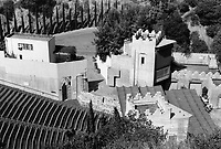 1971 Pilgrimage Play Theater on the east side of the Cahuenga Pass. Now known as the John Anson Ford Theater